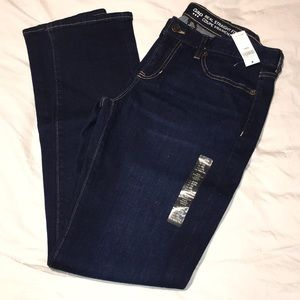 NWT Real Straight Fit Jeans - Size 8L / 29L